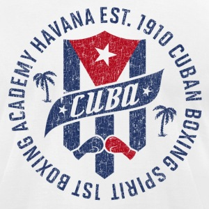 CUBA BOXING ACADEMY T-Shirts - Men's T-Shirt by American Apparel