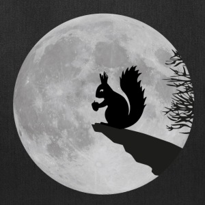 full moon squirrel acorn night Bags & backpacks - Tote Bag