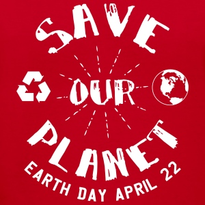 Earth Day Save Our Planet Women's T-Shirts - Women's V-Neck T-Shirt