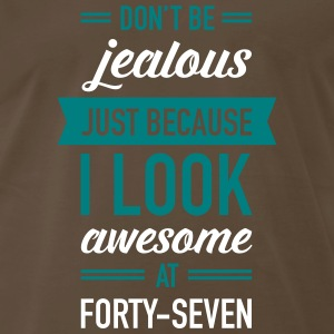Awesome At Forty-Seven T-Shirts - Men's Premium T-Shirt