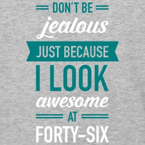 Awesome At Forty-Six T-Shirts - Baseball T-Shirt