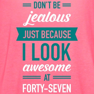 Awesome At Forty-Seven Tanks - Women's Flowy Tank Top by Bella