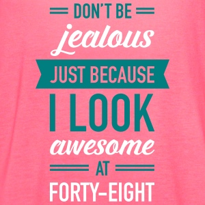 Awesome At Forty-Eight Tanks - Women's Flowy Tank Top by Bella