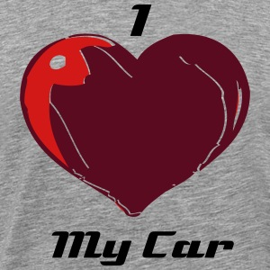 I heart My Car - Men's Premium T-Shirt