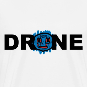 DRONE - FACE - Men's Premium T-Shirt