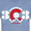 303 Colorado - Unisex Tri-Blend T-Shirt by American Apparel