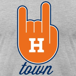 H-town T-Shirts - Men's T-Shirt by American Apparel