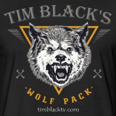 Tim Black Wolf Pack Fitted Tee