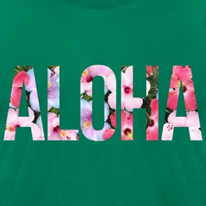 AD Aloha T-Shirts - Men's T-Shirt by American Apparel