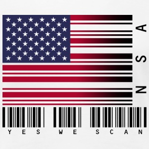 Yes We Scan Women's T-Shirts - Women's Premium T-Shirt
