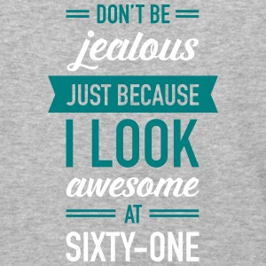 Awesome At Sixty-One T-Shirts - Baseball T-Shirt