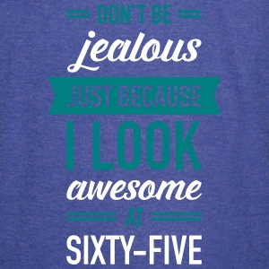 Awesome At Sixty-Five T-Shirts - Vintage Sport T-Shirt
