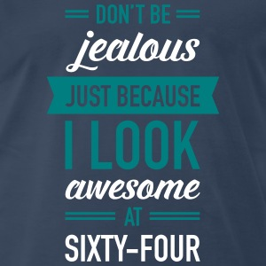 Awesome At Sixty-Four T-Shirts - Men's Premium T-Shirt