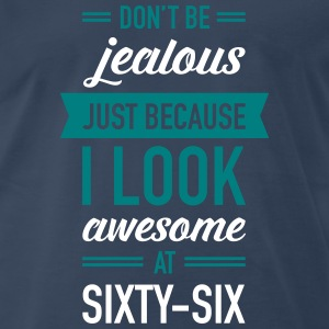 Awesome At Sixty-Six T-Shirts - Men's Premium T-Shirt