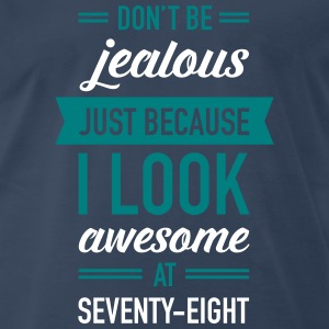 Awesome At Seventy-Eight T-Shirts - Men's Premium T-Shirt