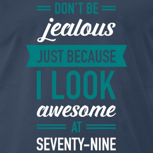 Awesome At Seventy-Nine T-Shirts - Men's Premium T-Shirt