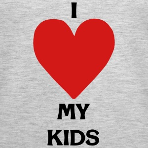 I LOVE MY KIDS Tanks - Women's Premium Tank Top