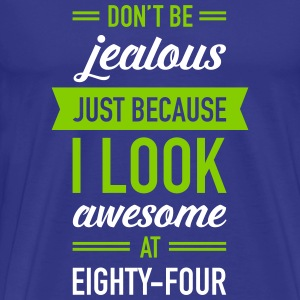 Awesome At Eighty-Four T-Shirts - Men's Premium T-Shirt