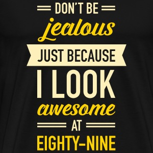 Awesome At Eighty-Nine T-Shirts - Men's Premium T-Shirt