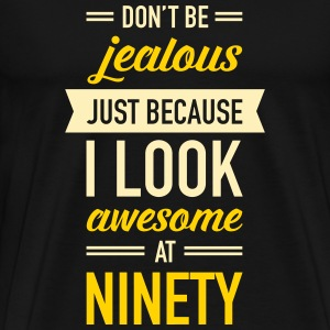Awesome At Ninety T-Shirts - Men's Premium T-Shirt