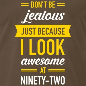 Awesome At Ninety-Two T-Shirts - Men's Premium T-Shirt