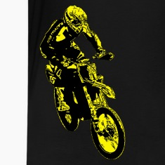 enduro jump yellow Kids' Shirts