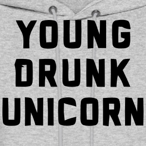 YOUNG DRUNK UNICORN Hoodies - Men's Hoodie
