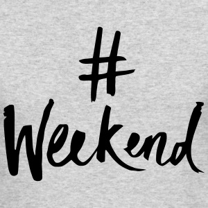 HASHTAG WEEKEND Long Sleeve Shirts - Men's Long Sleeve T-Shirt by Next Level
