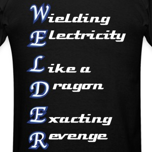 welder acronym - Men's T-Shirt