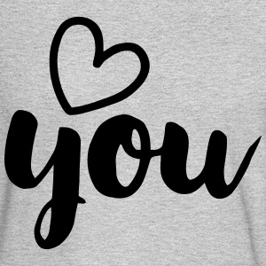 LOVE YOU Long Sleeve Shirts - Men's Long Sleeve T-Shirt