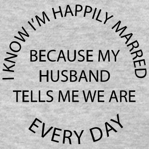 Happily Married Husband - Women's T-Shirt