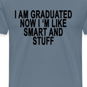 i_graduated_womens_funny_graduation__ - Men's Premium T-Shirt