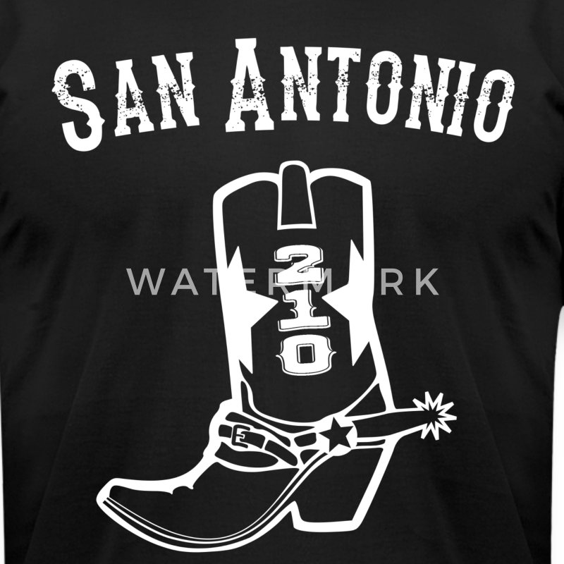 San Antonio Spurs Vintage t-shirt - Men's T-Shirt by American Apparel