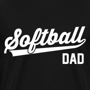 Softball Dad T-Shirts - Men's Premium T-Shirt