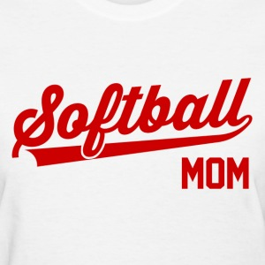 Softball Mom Women's T-Shirts - Women's T-Shirt