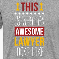 Awesome Lawyer Professions Attorney T Shirt T-Shirts