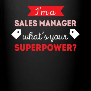 Sales Manager Superpower Professions T Shirt Mugs & Drinkware - Full Color Mug
