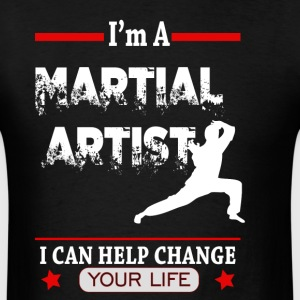 Martial Arts Changes Lives - Men's T-Shirt