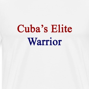 cubas_elite_warrior T-Shirts - Men's Premium T-Shirt