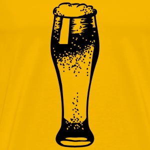 Beer Beer Glass pils T-Shirts - Men's Premium T-Shirt