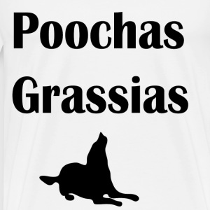 Poochas Grassias - Men's Premium T-Shirt