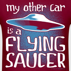 Other Car - Flying Saucer T-Shirts - Men's T-Shirt