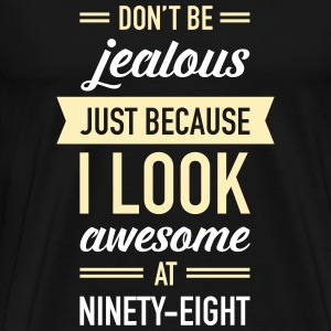 Awesome At Ninety-Eight T-Shirts - Men's Premium T-Shirt