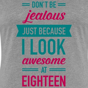 Awesome At Eighteen Women's T-Shirts - Women's Premium T-Shirt