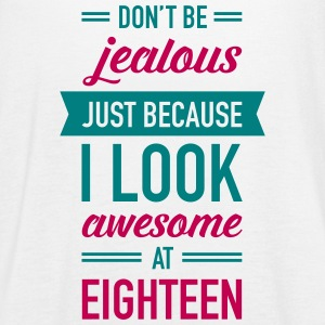 Awesome At Eighteen Tanks - Women's Flowy Tank Top by Bella