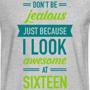 Awesome At Sixteen Long Sleeve Shirts - Men's Long Sleeve T-Shirt