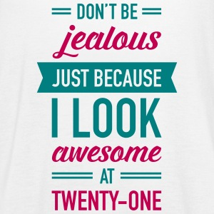 Awesome At Twenty-One Tanks - Women's Flowy Tank Top by Bella