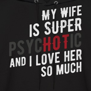Hot Wife - Men's Hoodie