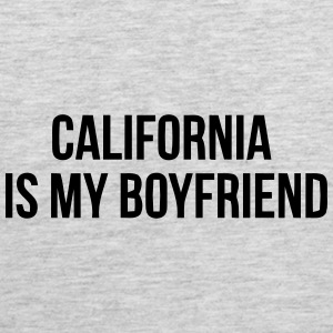 CALIFORNIA IS MY BOYFRIEND Sportswear - Men's Premium Tank