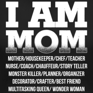 I am Mom - Women's Maternity T-Shirt